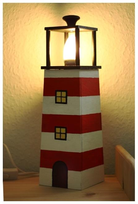leuchtturm aus holz der fr he vogel. Black Bedroom Furniture Sets. Home Design Ideas